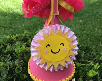 Little Sunshine Birthday Hat