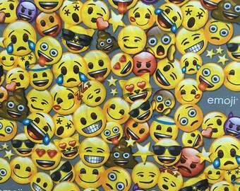 Emoji fabric etsy for Emoji fabric