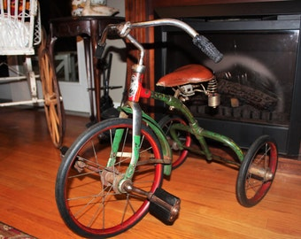 Antique Tricycle Velo King