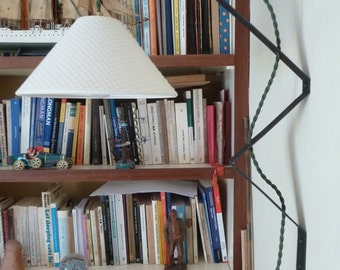 wall lamp, iron