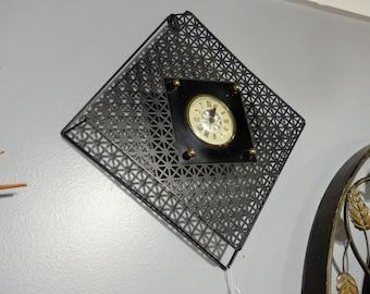 Mid Century Lanshire Movement Electric Clock