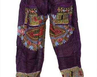 thai harem pants mens yoga pants women yoga legging aladdin afghani harem pants