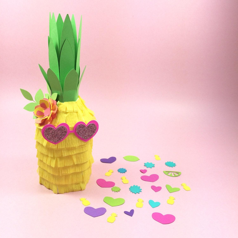 Pineapple pi ata 3 tutti fruitti mini pineapple pi ata for Decoration pinata