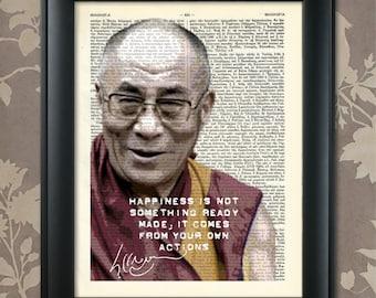 Dalai Lama Quote, Dalai Lama Art, Dalai Lama Print, Dalai Lama Poster, Dalai Lama Gift, Dalai Lama Decor, Dalai Lama Tibet, Tibetan Buddhism