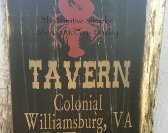 "11""X18"" Campbell Tavern Sign"