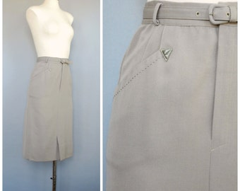 Up and Away Skirt • 1940s Pencil Skirt
