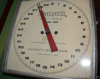 Hanson Dairy Scale Model 600