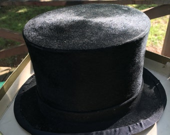 Beautiful Old Vintage Henry Heath Silk Top Hat