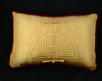 Asian Inspired Upcycle Pillow