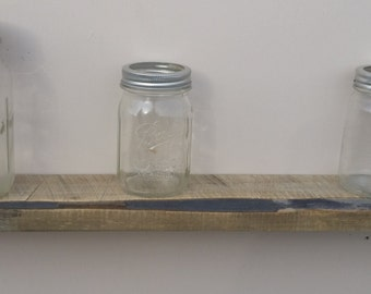 Reclaimed Wood Floating Shelf  Re-purposed Rustic Home Decor