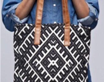 Canvas Tapestry Tote, Tapestry  Handbag