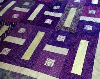 Purple Passion Handmade Quilt