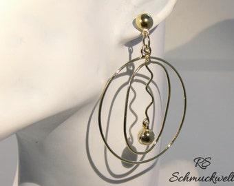 Stud earrings, earrings pendant, geometric, statement earring, long earrings, earrings, earrings long, Christmas gift