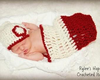 Crochet Newborn Cocoon