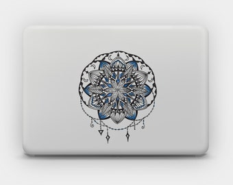 Transparent Sticker Decal for MacBook or Laptop - Mandala 5
