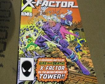 X-Factor # 2  ( 1987) VF --Marvel Comics
