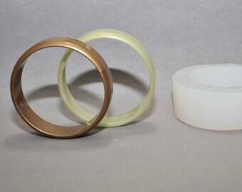 BRACELET SILICONE MOLD resin polymer clay fimo bangle flexible mould acrylic