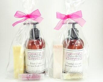 Lotion Soap Lip Balm Gift Set / Bath and Body Gift Set / Bath Gift Set / Body Gift Set / Lotion Gift Set / Soap Gift Set / Lip Balm Gift Set