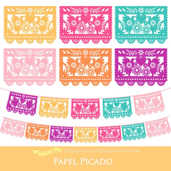 papel picado clipart - photo #3
