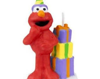 Elmo's Birthday Candle