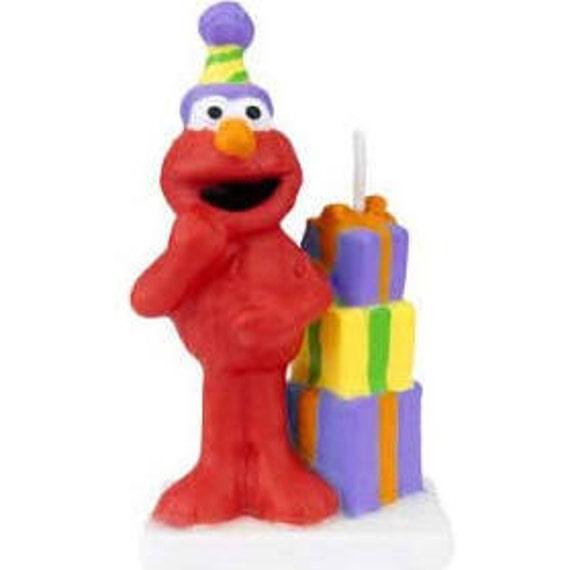 Elmo's Birthday Candle