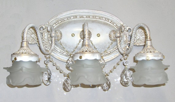 Shabby Chic Bathroom Vanity Light 2 Or 3 Bathbar