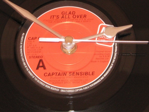 Captain Sensible Glad Its All Over Damned On 45