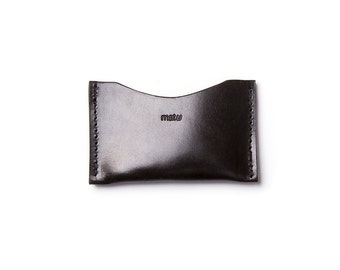 Simple wallet LEVAC - black