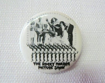 Vintage Early 80s The Rocky Horror Picture Show Pin / Button / Badge