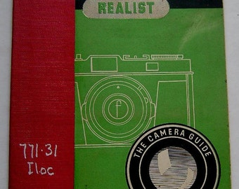 ILOCA AND REALIST Guide Focal Press Camera W D Emanuel 1955 Vintage Photography Book