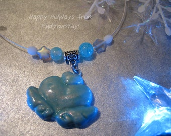Glow in the Dark Pretty Cure Precure Miracle Light Necklace