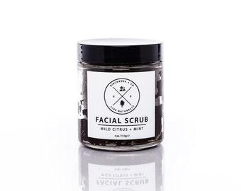 Facial Scrub - Wild Citrus + Mint
