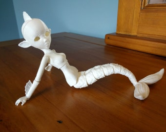 3D Printed BJD Adult Mermaid Creator Kit