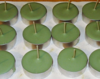 Bayberry Scented 12 Pack of  Soy Tealight Candles