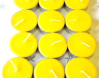 Choose Your Fragrance 24 Pack of Soy Tealight Candles