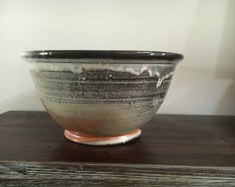 Hand made ceramic altered serving bowl  small sized