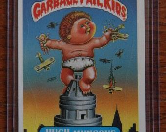 Garbage Pail Kids - Hugh Mungous (124a- 1985)