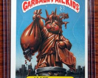 Garbage Pail Kids - Alice Island  (113a - 1986)