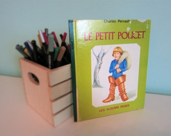 Le petit poucet by Charles Perrault - Vintage French Children Book