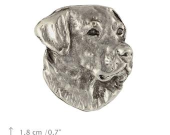 Labrador Retriever, dog pin, limited edition, ArtDog