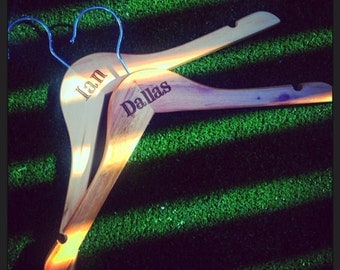 Engraved Coat Hangers Just for the Kids