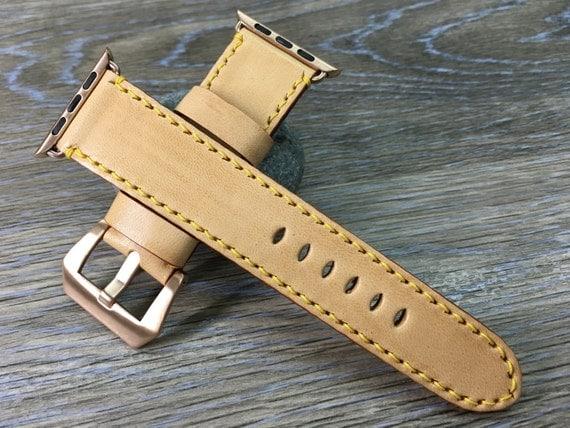 Apple Watch Band | Apple Watch Strap | Vintage Leather watch strap | Vintage watch band For Apple Watch 38mm & Apple Watch 42mm