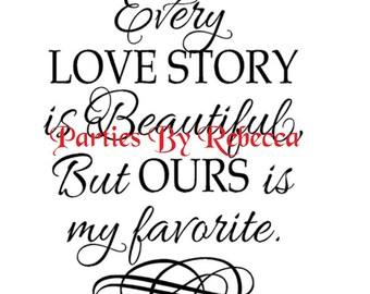 Love story SVG digital File