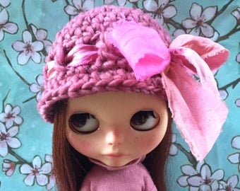 Crochet Hat for Blythe Dolls