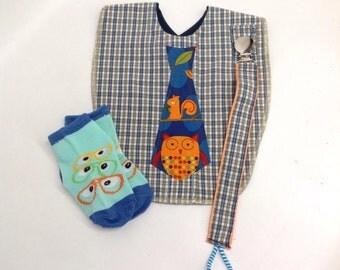 Baby Boy Tie Bib Dress Up Bundle (3 items)
