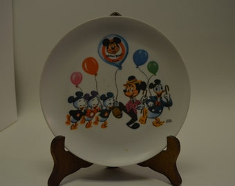 Mickey Mouse Club Childs plate