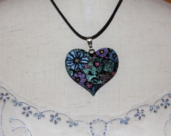 Heart of Flowers Necklace