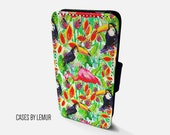 FLAMINGO Iphone 6 Wallet Case Leather Iphone 6 Case Leather Iphone 6 Flip Case Iphone 6 Leather Wallet Case Iphone 6 Leather Sleeve Cover
