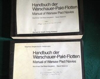 Handbuch Der Warschauer-Pakt Flotten Vol. 1 & 2 ( Manual of Warsaw-Pact Navies ) Koblenz