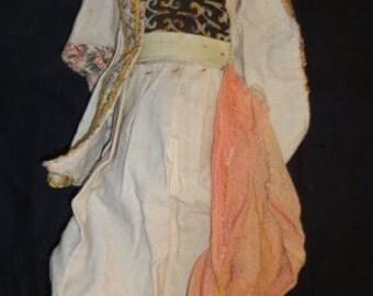 Vintage Paper Mache Doll